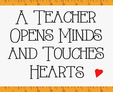 Teacher Appreciation Week is May 3rd-7th at Universal Academy
